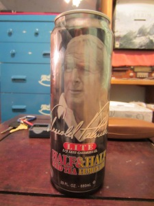 Arnold Palmer is confused by his can prison, but I'm not.